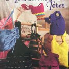 Totes and Bags Crochet Pattern Trendsetting Totes American School of Needlework 1251