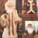 Father Christmas Sewing Pattern Vogue patterns 8126 Linda Carr uncut with face transfer