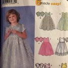 Flower Girl Jr. Bridesmaid Special Occasion Dress Sewing Pattern Simplicity 7109