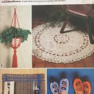 Gift Ideas Great Ideas Crochet Plant Holder Rug Slippers Pillows Potholders Craft Pattern 2633