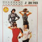 Neue Mode Halter T-shirt Pattern J20703 sizes 8 to 18