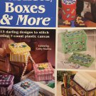 Baskets Boxes & More Plastic Canvas Pattern The Needlecraft Shop 847531 13 designs