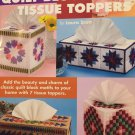 QUILT BLOCK Tissue Topper  Plastic Canvas patterns The Needlecraft Shop 847509