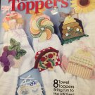Towel Toppers PIZZA GRAPES SUNFLOWER TEA Plastic Canvas Pattern 844371
