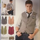 Men's Vests Sewing Pattern Simplicity 2346