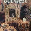 Leisure Arts Out West Plastic Canvas Patterns 6069