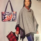 Sewing Pattern Quilted Tote Bages 12 1/2¨ x 8 1/2¨  McCall's M9360 Sewing Pattern