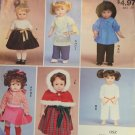 "McCall's 9258 Stitch ´n Save 18""  Doll Clothes Sewing Pattern  Vintage dresses Karate outfit"