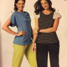 McCall's 9119 Misses Tops Sizes extra small to XXL Sewing Pattern