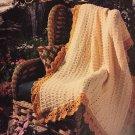 American School of Needlework 1233 Afghans Treasures crochet pattern