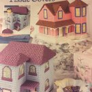 Annie's Attic 870831 VICTORIAN HOUSE TISSUE COVERS Plastic Canvas pattern
