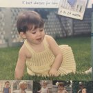 Leisure Arts Knitting Pattern Book 3468 Mama's Girl 5 knit dresses 6 to 24 mos