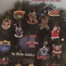 Christmas Clippers Cross stitch Pattern American School of Needlework 3584