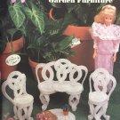 Fashion Doll Garden Furniture Plastic Canvas Patterns Annies Attic 245K