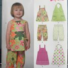 Toddler Top Pants and Dress pattern New Look 6906