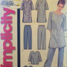 Simplicity 7050 Misses (Size A xs-xl) sleepwear tops and bottoms