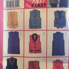 Butterick sewing pattern 5276 9 Sew Fast & Easy Misses'/Misses' Petite Vest in sizes 20, 22, 24