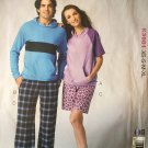 Kwik Sew K3981 Mens Womens Sleepwear Sewing Pattern