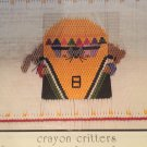 Crayon Critters Smocking plate 112 Little Memories