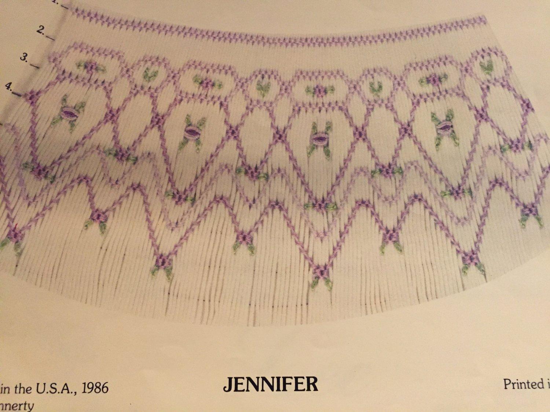 Jennifer Smocking plate Cynthia Finnerty #114