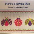 Make A Ladybug Wish Smocking plate Frances Messina Jones