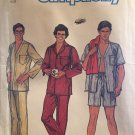 Men's Pajamas Sewing Pattern Simplicity 6381 size large 42-44 UNCUT
