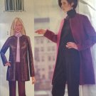 Butterick Sewing Pattern 6828 from 2000. Misses Lined Jacket and Pants Size 12 14 16