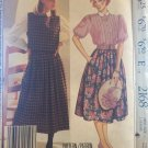 Misses Laura Ashley Blouse Tabard Skirt McCalls 2168 Sewing Pattern Size 12