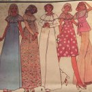 McCalls 4919 Misses Vintage 1970s Dress or Top Sewing Pattern size 12  Bust 34