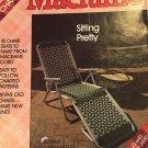 Macrame Lawn Chairs Pattern Sitting Pretty Plaid Enterprises 8058