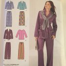 Simplicity 1762, Size 4–26 Pajama Top Knit Top Pajama Pants Two Lengths Sewing Pattern