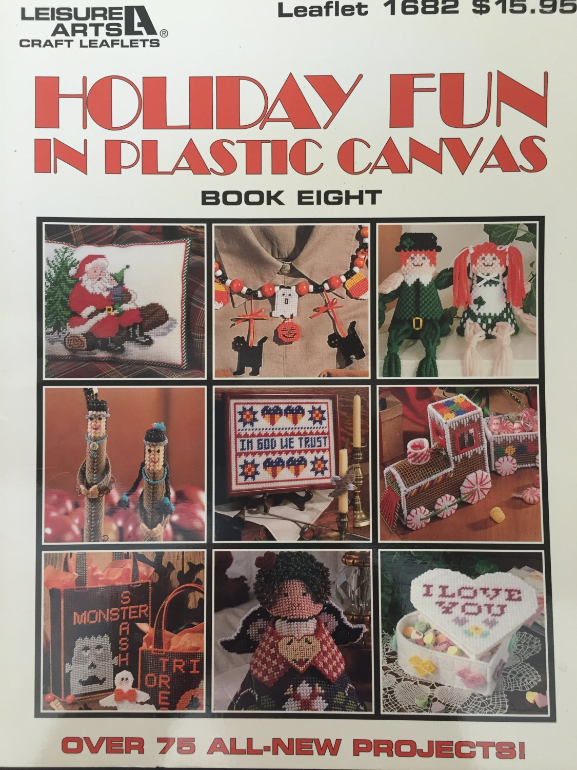 Leisure Arts 1682 Holiday Fun in Plastic Canvas Book 8