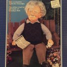 "Fibre Craft 14 ""Grandpa Outfit FCM343 Sewing Pattern"