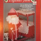 "Fibre Craft SANTA CLAUS outfit for 14"" Santa Claus Doll Sewing Pattern FCM334"