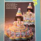 Birthday GIrl Pillow Doll Bed Doll Crochet Pattern  Fibre Craft FCM210