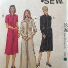 Kwik Sew 2998 Shirt Dress Sewing Pattern Misses Sizes XS, S, M, L, XL, By Kerstin Martensson