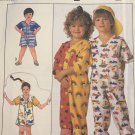 Simplicity 9127 Child's Jumpsuit in Two Lengths Sewing Pattern Size 3 Small