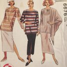 McCalls 6676 Misses Top, Skirt, and Shawl Pattern 3 Hour Separates Sizes Lg, XLg Uncut