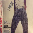 90s Harem Pants Women's Tank Top Sewing Pattern Size Med. to XL McCalls 5346