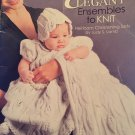 Elegant Ensembles to Knit Heirloom Christening Sets by Judy S. Lamb Leisure Arts pattern 4090