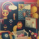 Small World Bazaar Plastic Canvas Pattern Needleworks 109 Children's toys and nursery decor