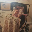 Afghans for Baby Leisure Arts 588  Crochet Pattern 7 designs by Mary Jane Protus