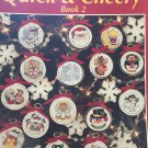 Quick & Cheery Book 2 Christmas Miniatures Cross Stitch Leisure Arts 2673 Steinmeyer
