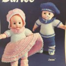 Baby Doll Darice Dolls Crochet Twins Boy Jason and GIrl Jasica Dolls Crochet Pattern