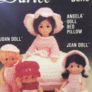 Angela doll bed pillow John and Jean Dolls Darice Crochet Pattern