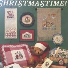 It's Christmastime! Cross Stitch Pattern Leaflet, Leisure Arts 354, Needlework Holiday Designs