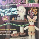 Crochet World April 1996 Easter Fun to Crochet Little Lamb Sunny Bunny