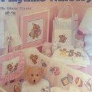 Playtime Nursery Cross Stitch Pattern Leaflet, Leisure Arts 2465, Baby Infant