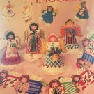 Plastic Canvas Angels Pattern American School of Needlework 3061