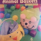 Five Hour Animal Baskets Plastic Canvas Pattern The Needlecraft Shop #8425337